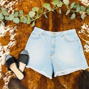 VTG Moda Intl London Denim High Waist Mom Shorts